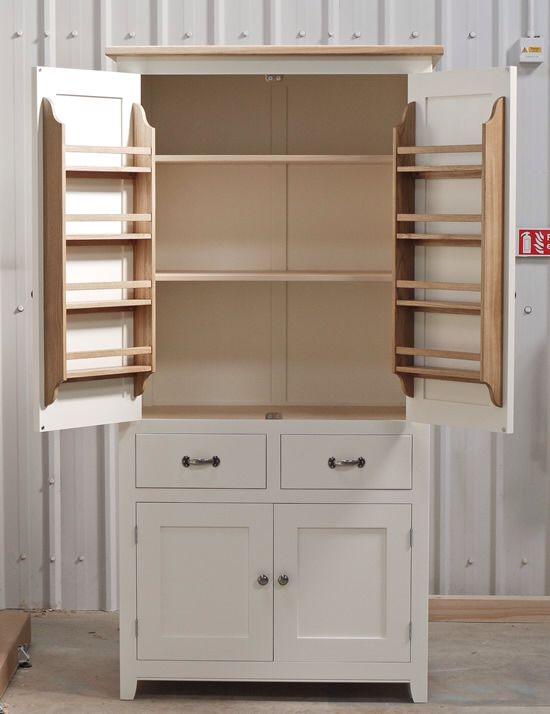Ideas For Larder Cupboard Design Less Twee Though Kitchen Larder Freestanding Kitchen Furniture Space Saving Kitchen