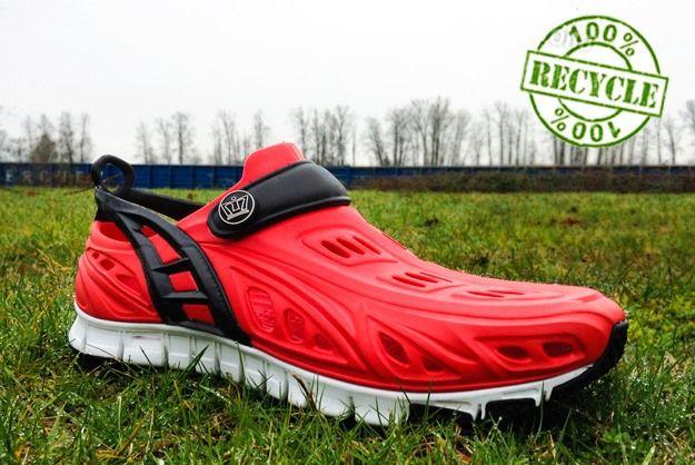 Crocs-Style Running Shoe Made Of Foam
