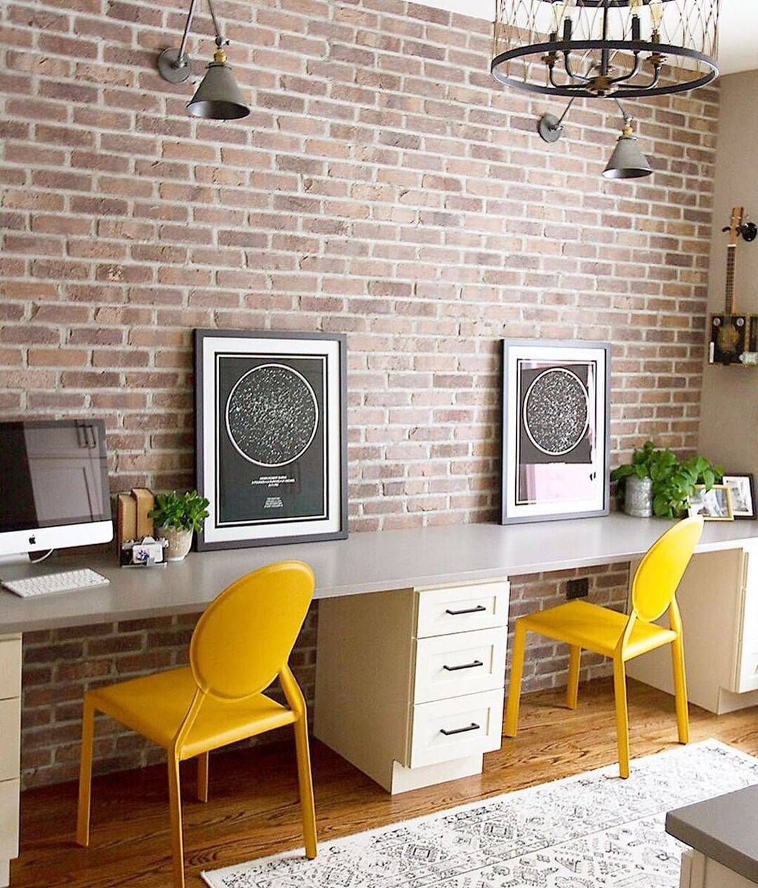 This Office Design From Chad Esslinger Design Is