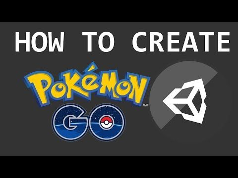 How To Make A Game Like Pokemon Go [UNITY 3D] Tutorial - YouTube