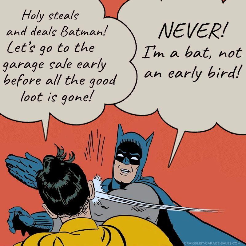 How does the song go? Jingle Bells; Batman sells; Robin