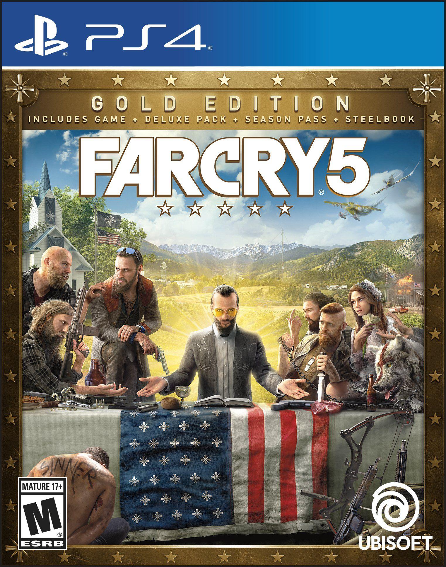 Far Cry 5 Steelbook Gold Edition Mi Psp 4 Pinterest Juegos