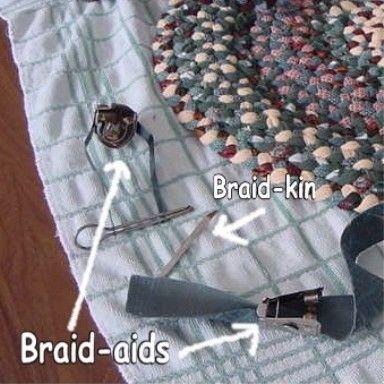 Braided Rugs Braiding Tools