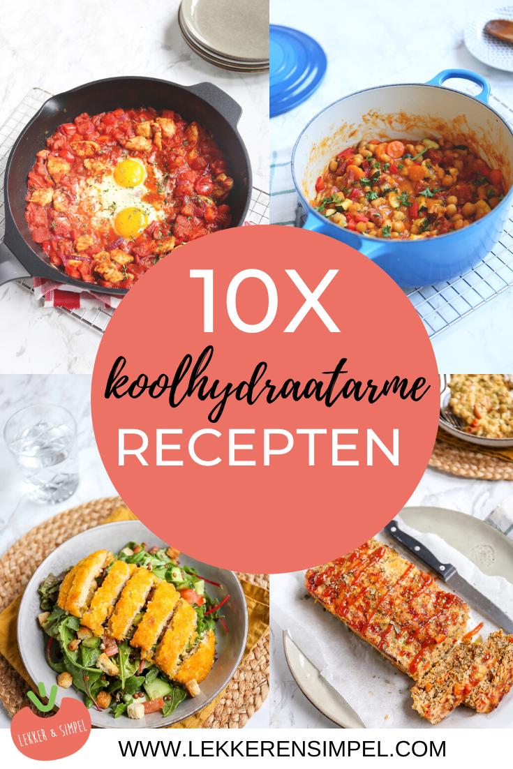 10x koolhydraatarme recepten - onze favorieten - Lekker en Simpel