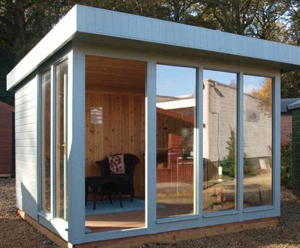 Estudio prefabricado salthouse de crane diseno for Casetas prefabricadas para jardin