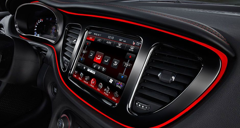 2014 Dodge Dart Gt With The Available Uconnect 8 4n Touchscreen