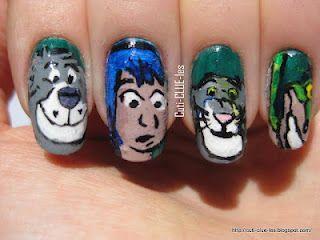 The Jungle Book Nail art by Cuti-CLUE-les