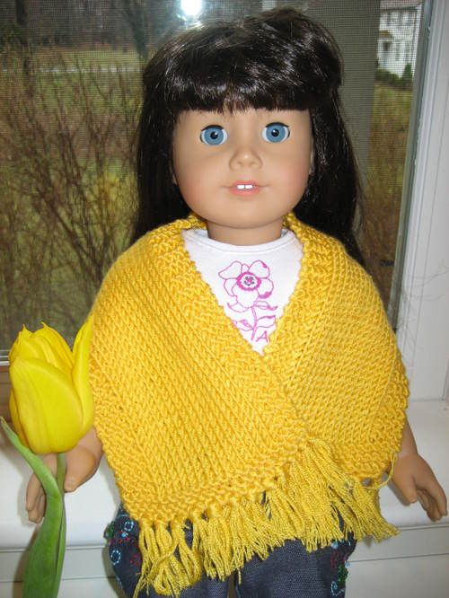 American Girl Doll Simple Prayer Shawl – Vertical | muñecas ...