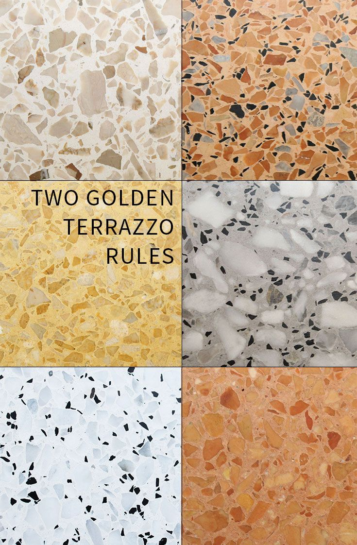 2 Golden Rules For Specifying Terrazzo Table Tops In 2019