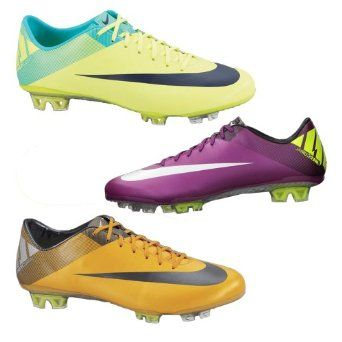 best service 1e05d ce22c Nike Mercurial Vapor VII FG Mens Soccer Cleats Orange Volt Silver