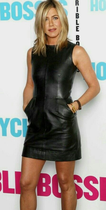 Black leather dress hairstyles