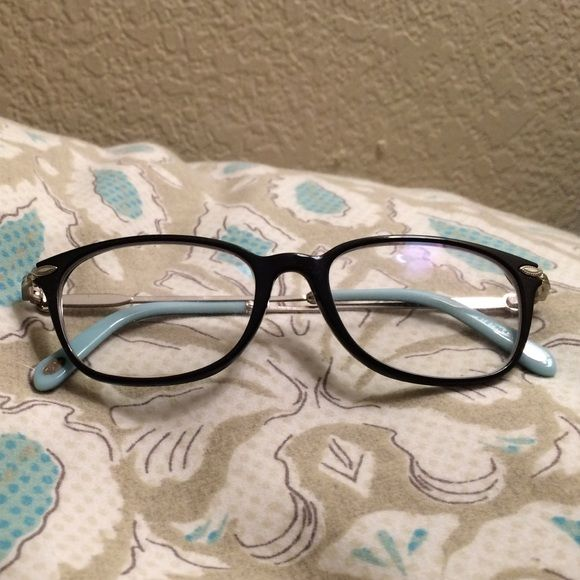 db6189d60fa5 Tiffany   Co. Glasses Black frames with pearl on both sides. Tiffany s  glasses Tiffany   Co. Accessories Glasses