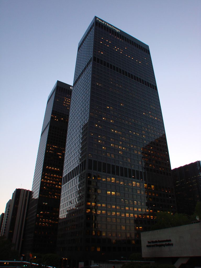 Los Angeles City National Bank Plaza Paul Hastings Tower And City National Tower