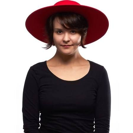 women's wide brim red hat - Google Search
