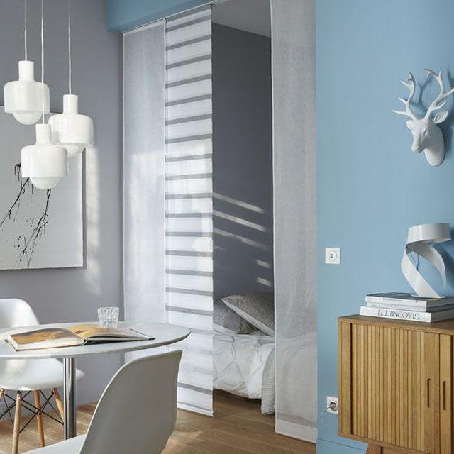 elegant panneau japonais jour nuit blanc x cm castorama with rideaux japonais castorama. Black Bedroom Furniture Sets. Home Design Ideas