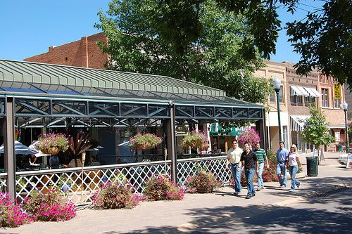 Downtown 9th Street Plaza. Truly the heart of the City, downtown is where art, entertainment, dining, and shopping abound!