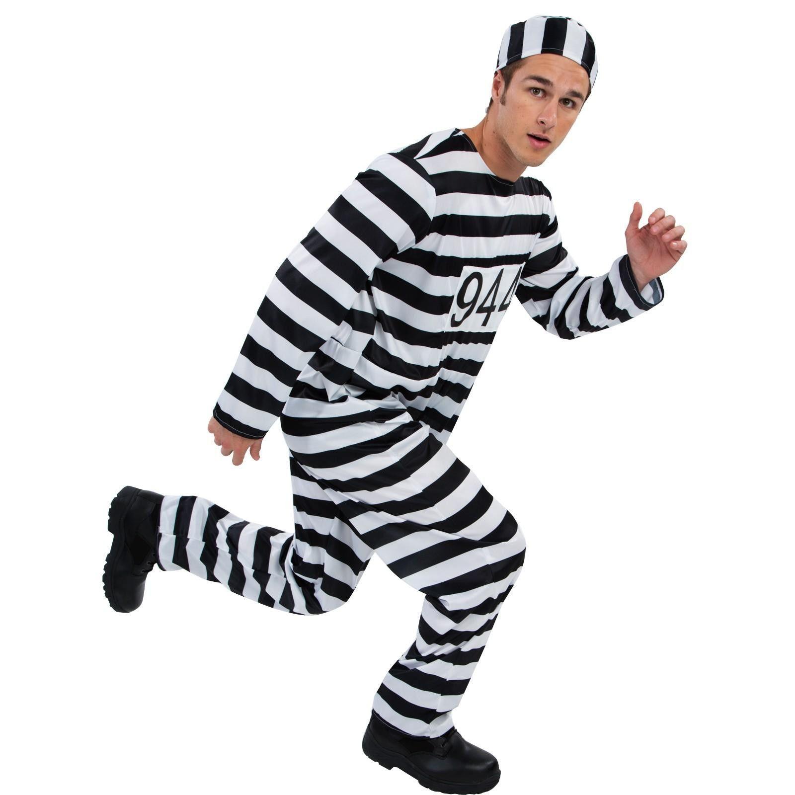 Adult Convict Costume  sc 1 st  Pinterest & Adult Convict Costume | Crafts | Pinterest | Convict costume and ...