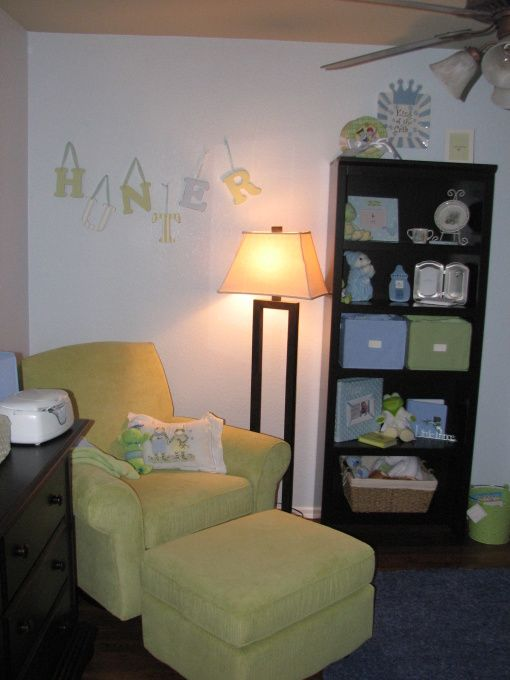 arrow baby nurseries | Baby Hunter's Room, This room is fairly small but I love how it turned ...