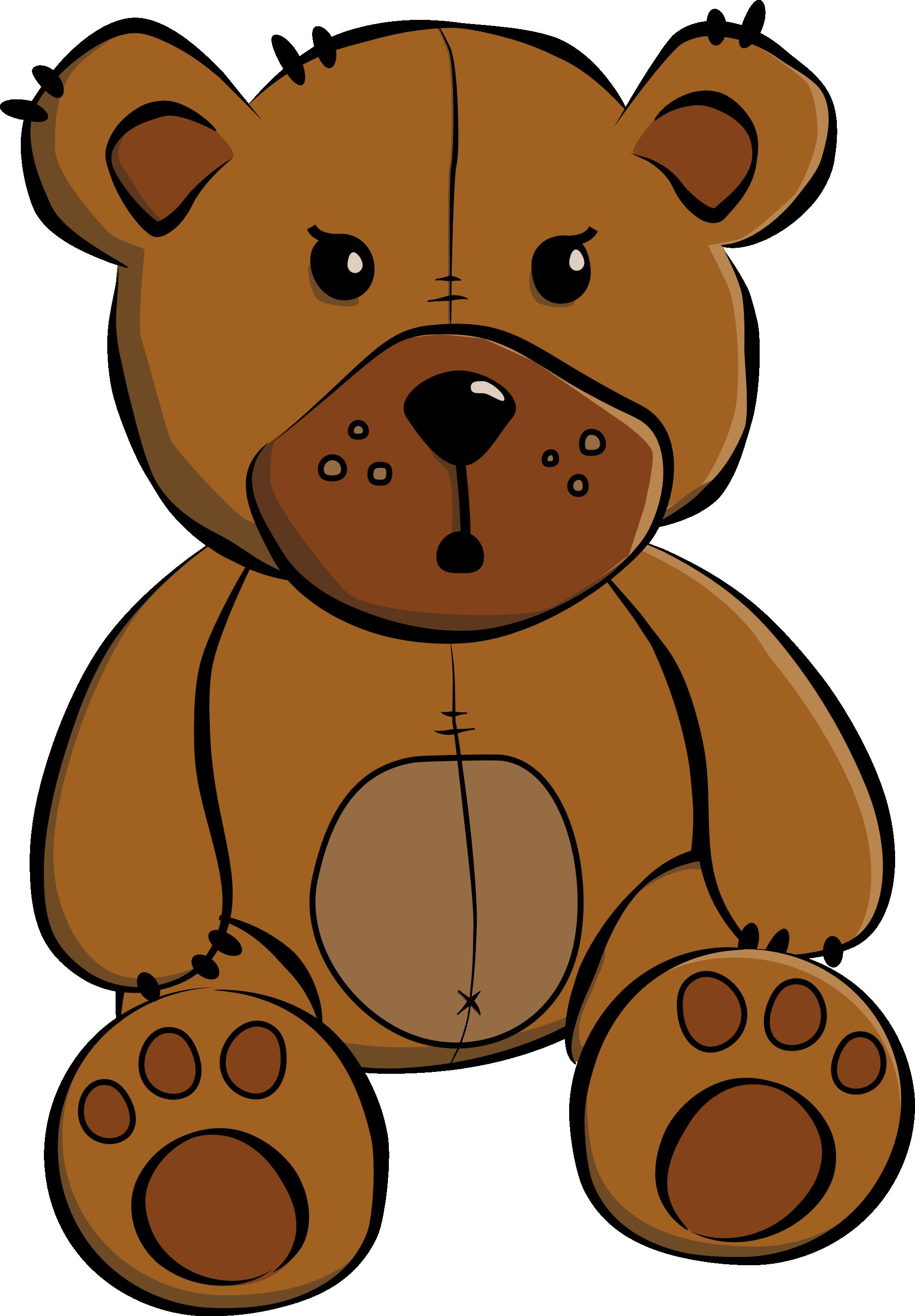teddy bear clip art teddy bear xmas christmas svg [ 1979 x 2847 Pixel ]