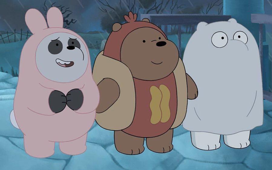 A Animacao We Bare Bears Ursos Sem Curso Narra A Historia De Pardo Panda E Polar Tres Forasteiros Tentando Wallpapers Bonitos Ursos Fofos Wallpaper De Urso