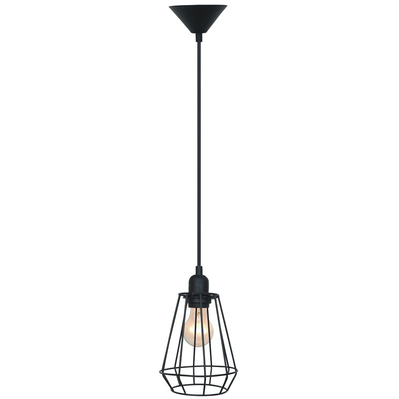 Cafe Lighting Chilli Metal Pendant Light 240v Wire Cage I