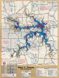 Truman Lake Map truman lake map | Truman Lake Map | Warsaw Mo   Truman Lake in