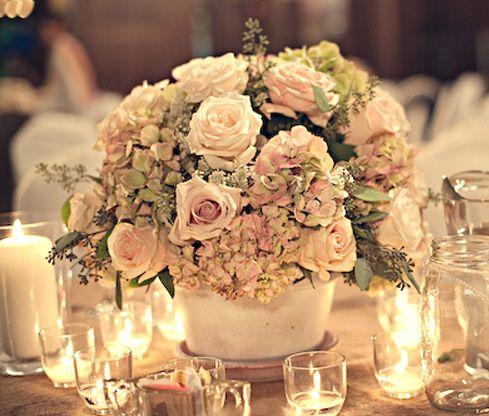Atractivos Arreglos de mesas para bodaHermosos diseos Bodas