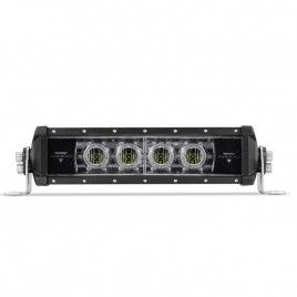 Aux Trend Series 12 Inch 28w Flood Single Row Light Bar With Green Atmosphere Light