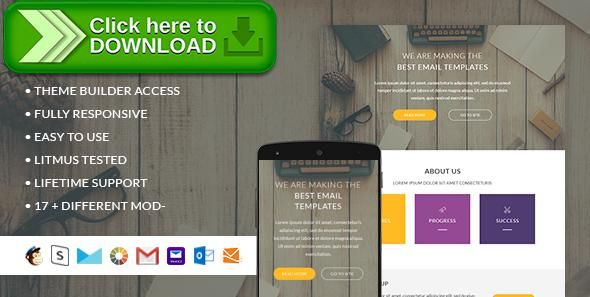 Free nulled Mariam- Responsive Email + StampReady Builder download ...