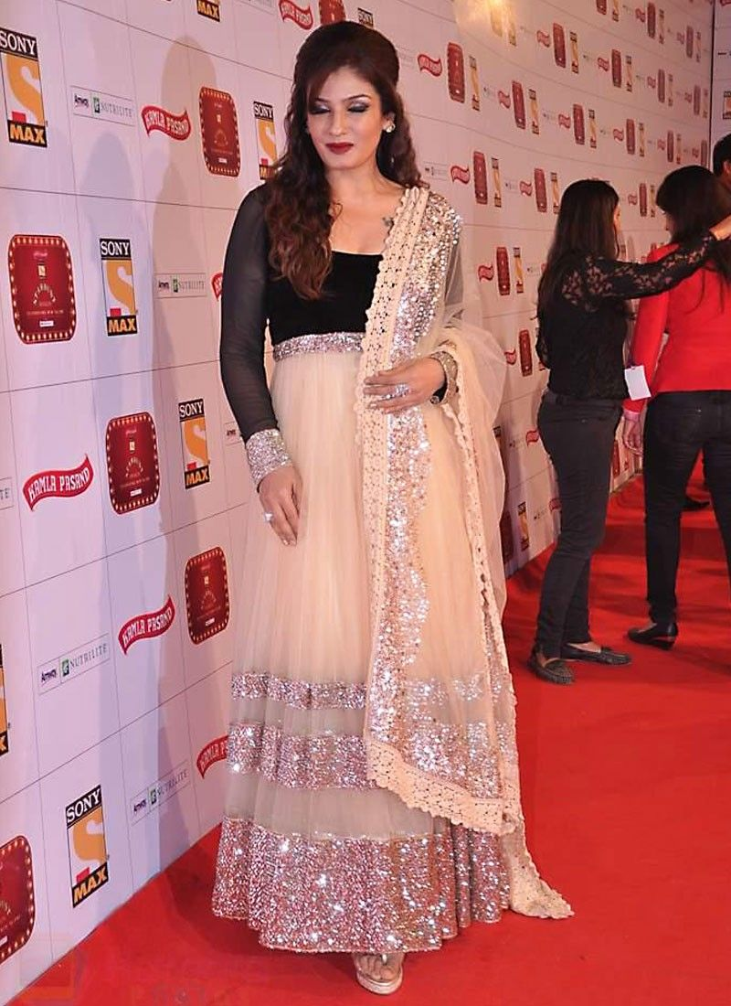 Bewitching Raveena Tandon Bollywood Suit | Khi\'s Wedding | Pinterest