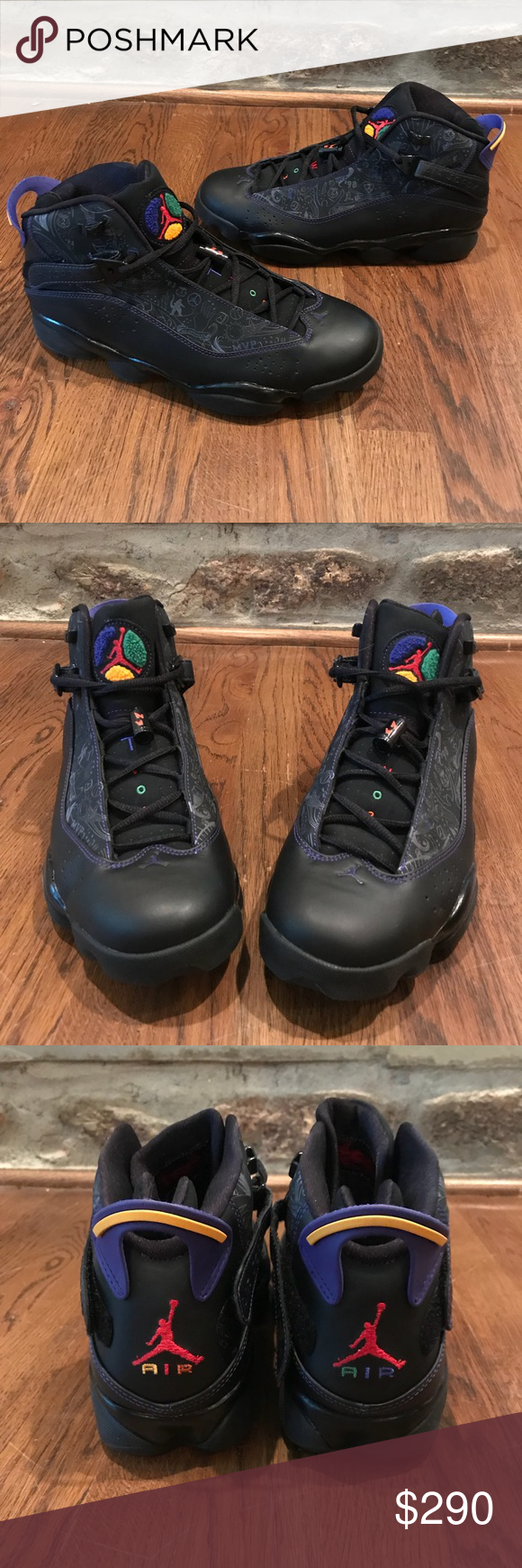 Extremely RARE Jordan 6 Rings Colorway