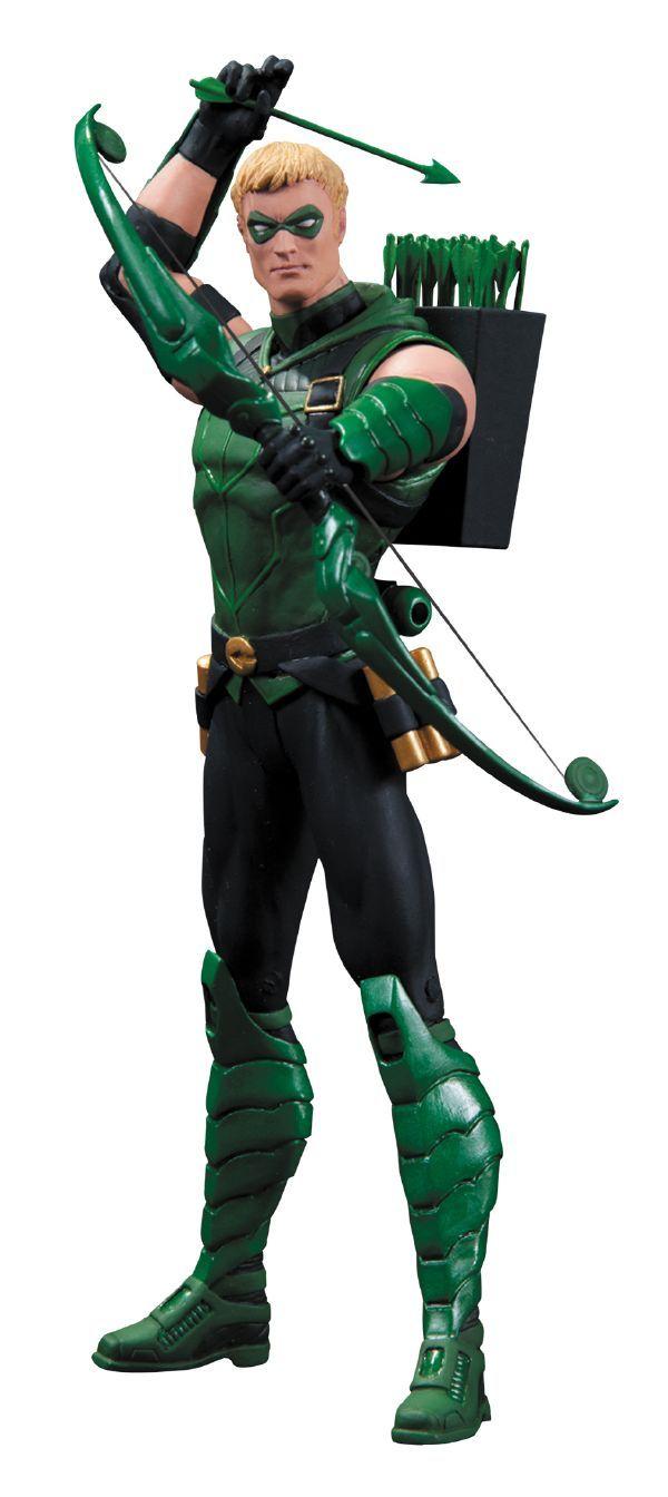 DC Comics The New 52: [Figuras de Ação] Arqueiro Verde da DC Colecionadores
