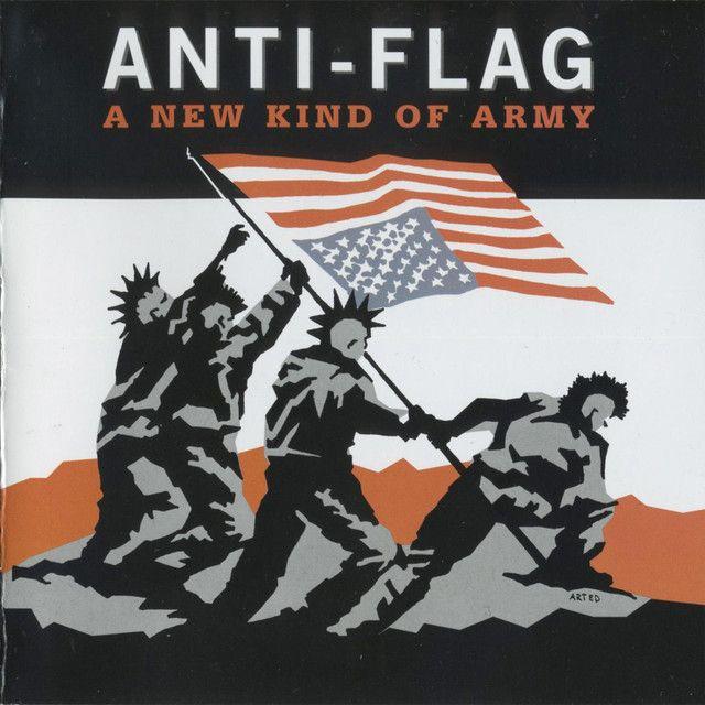 Tearing Everyone Down Anti Flag Flag Anti