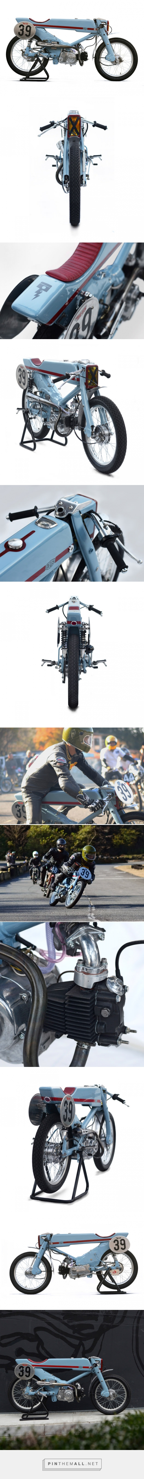 Deus Japan Hot Rods the Honda Super Cub   Bike EXIF... - a grouped images picture - Pin Them All