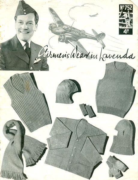 Knit For Victory Vintage Knitting Patterns Httpwww