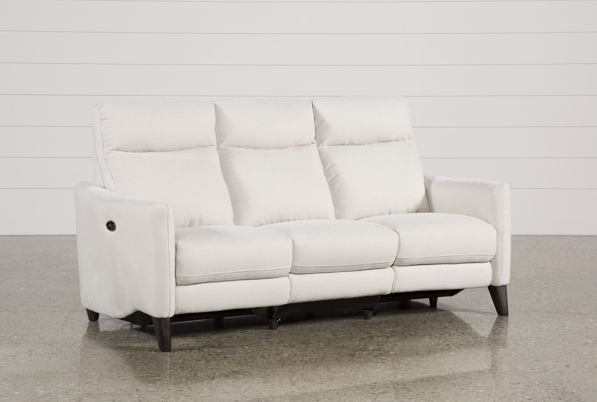 Power Reclining Sofa W/Usb, Melina Bisque, Natural | Pinterest ...