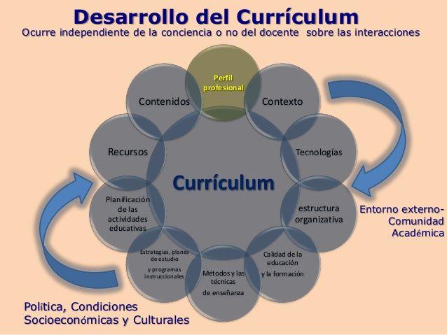 etapas del curriculum educativo