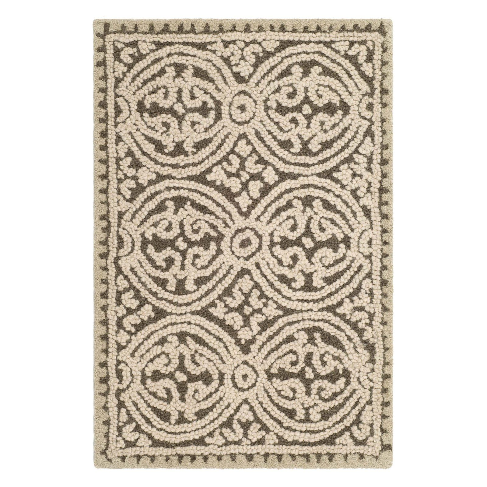 Safavieh Cambridge CAM232A Area Rug - Brown/White