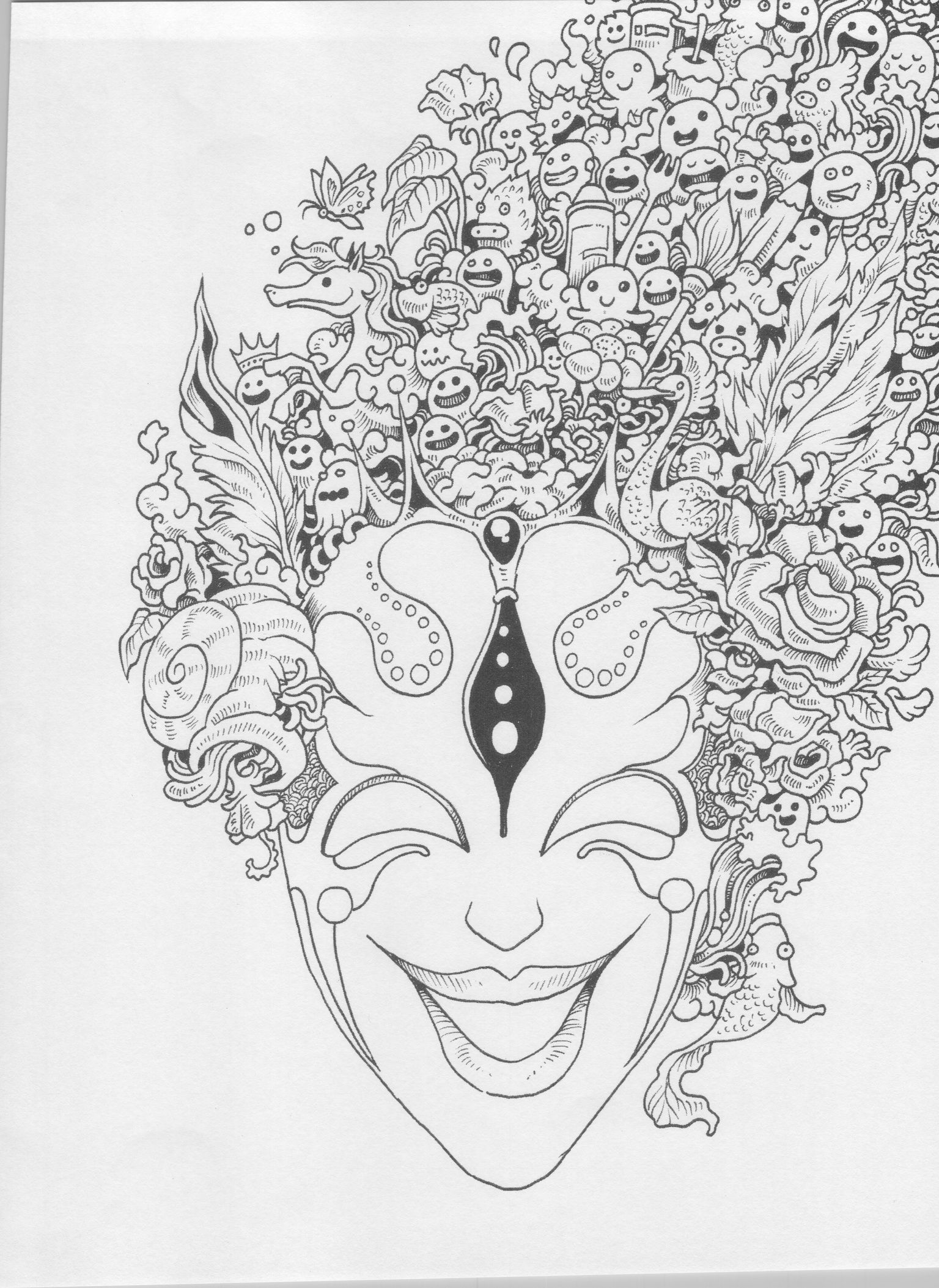 Pin by vishva shah on doddle | Animal coloring pages ...