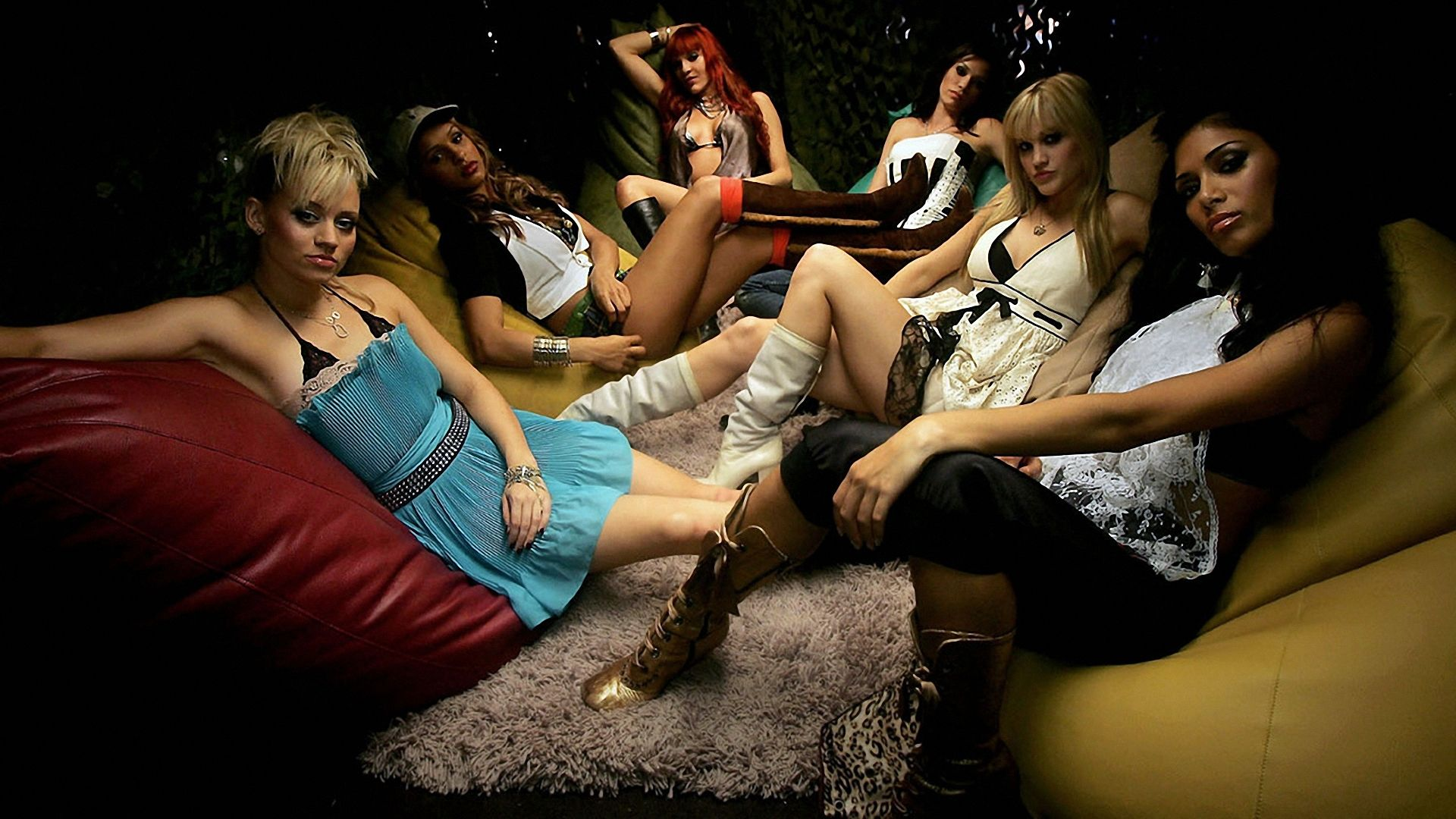 How girls relax 18