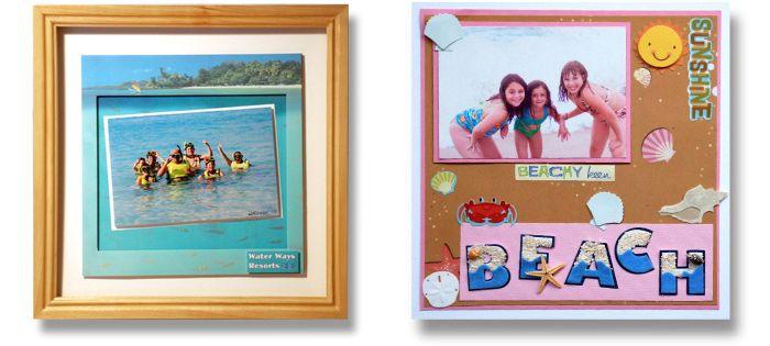 vacation frames