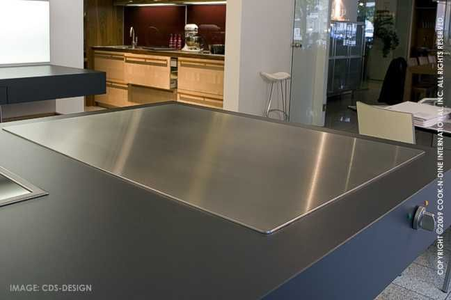 Awesome In A Kitchen Island With Bar Stools Around So I Can Make Breakfast For The  Kids · Flat Top GrillCooking ...