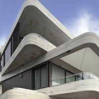 cantilever corners.