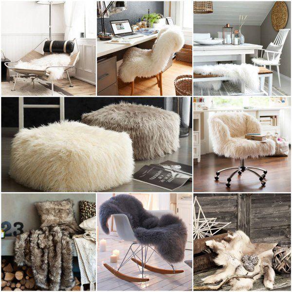 wohnzimmer einrichtung schaffell skandinavisch wohnideen. Black Bedroom Furniture Sets. Home Design Ideas