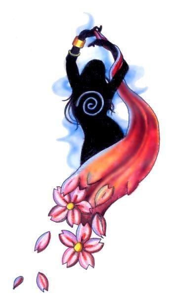 Belly Dance Design By Tikitavi Deviantart Com Dance Tattoo Dancers Art Belly Dance