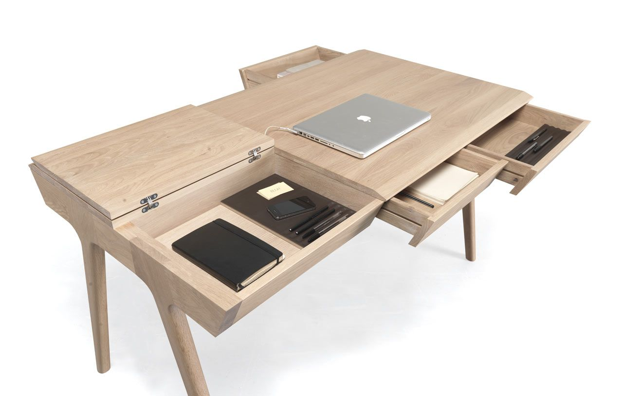 A Storage Packed Desk So You Can Keep Your Workspace Tidy