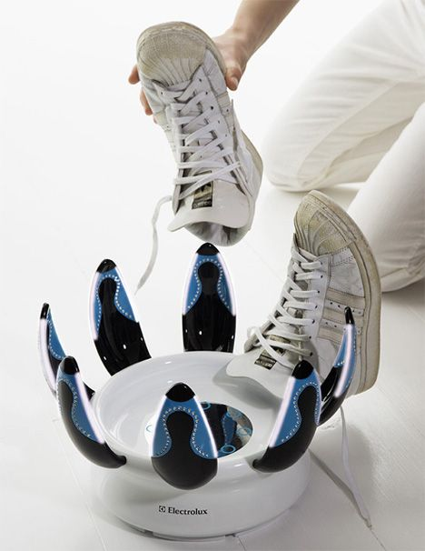 | Happy Feet is a solution for cleaning and sanitizing shoes. #gadgets #tech #handy…