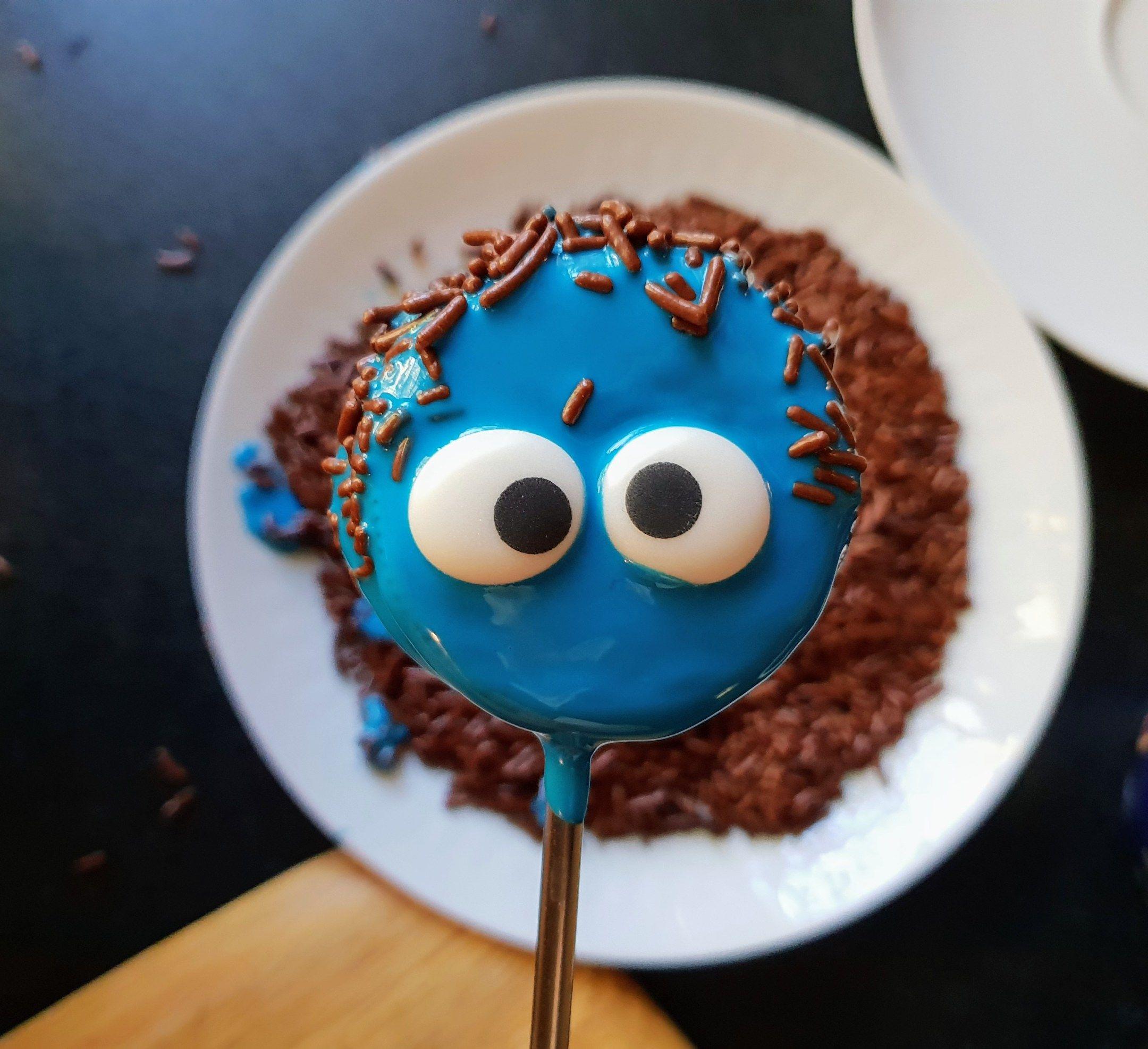 Cake Pops Rezept ohne backen Halloween Monster aus Oreo