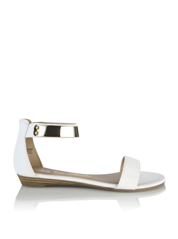 Metal Cuff Sandals Summer Holiday Clothes Shoe Boots