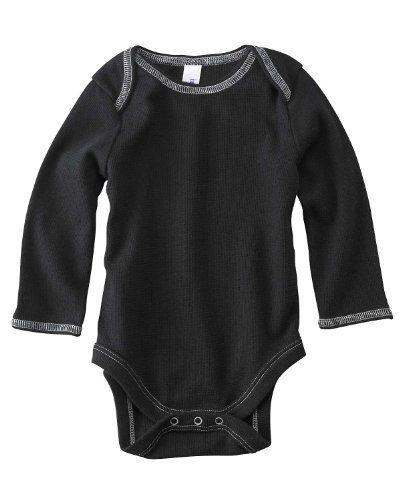 Bella Baby Long Sleeve Thermal One Piece Bodysuit. 103 3